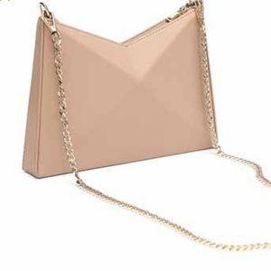 Zara geometric mini crossbody bag